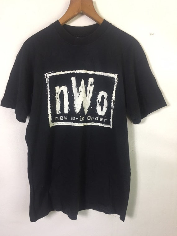 Vintage 90s NWO New World Order Wcw Wwf T Shirt
