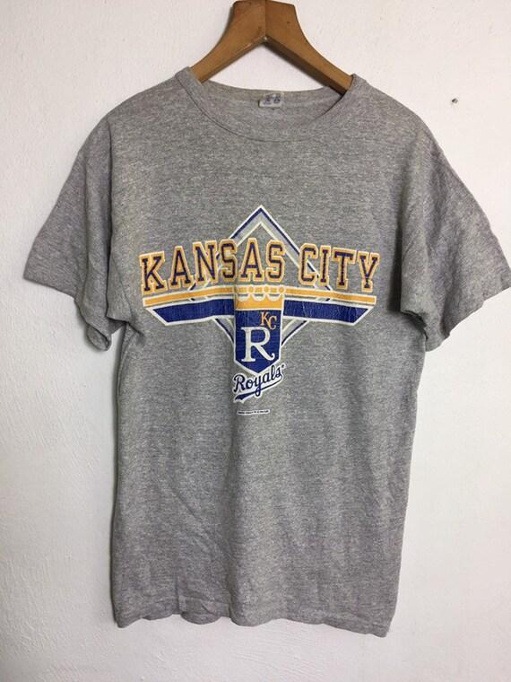 Vintage 90s Kansas City Royals T Shirt Large Size