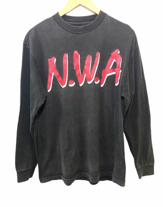 Vintage N.W.A Hip Hop Promo Tour Concert T Shirt M