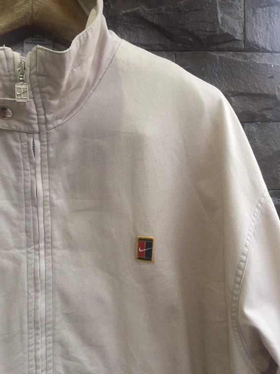 Vintage 90s Nike Court Tennis Jacket XL Size