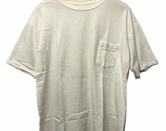 Vintage 90s Banana Republic Pocket Tees T Shirt Medium Size