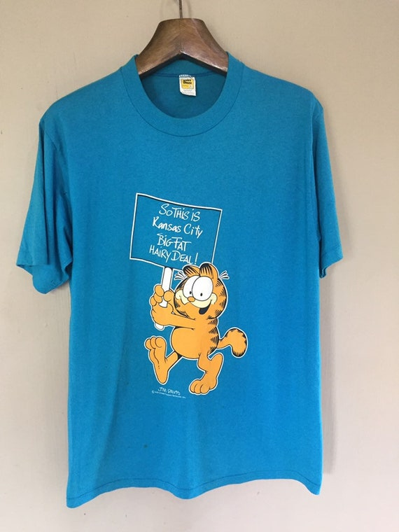 Vintage Garfield Jim Davis T Shirt XL Size