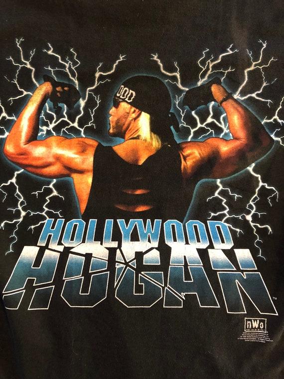 1998 Hollywood Hogan NWO Shirt Vintage Tee 90s Wo… - image 4