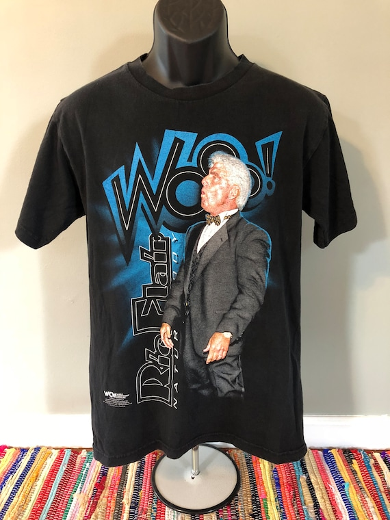 90s Ric Flair WCW Wrestling Shirt Vintage Tee 4 Fo