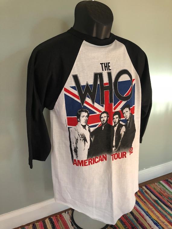 1982 The Who American Tour Shirt Vintage 80s Tee … - image 3