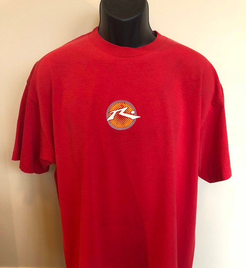 90s Rusty Surfboards Shirt Vintage Tee Surf Swimwear San Diego Etsy