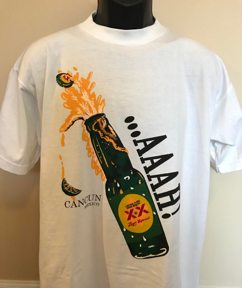 af5e64ffa4b4c9 90s Dos Equis Beer Shirt Vintage Tee Most Interesting Man