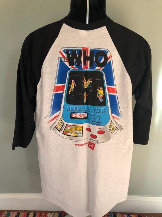 1982 The Who American Tour Shirt Vintage 80s Tee … - image 5