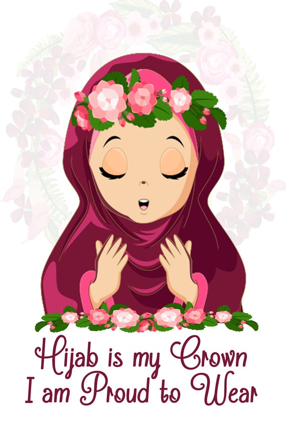 Hijab Salah Party Downloadable File Etsy Assalamualaikum, welcome back to my channel,so this video made with white flower crown. etsy