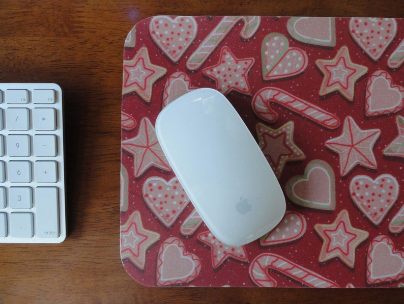 Christmas Cookies Mouse Pads Gifts Under 15 Desk Accessories Holiday Baking Gifts For Cooks Custom Mousepads Xmas