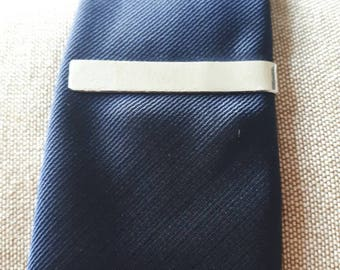 Sterling silver,Textured tie bar/pin