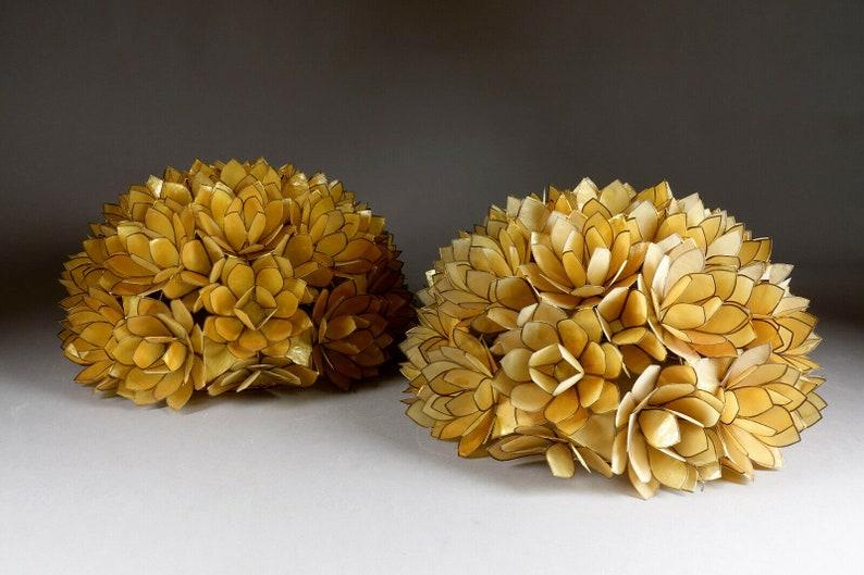 Xxl coppia capiz madre perla filo montaggio luci di loto fiori SLGE1tYM