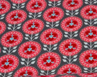 Cotton - patchwork Riley Blake desert bloom - gray desert Medallion