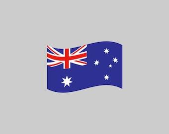Australia Flag - Download Digital Clipart Silhouette Vector Files