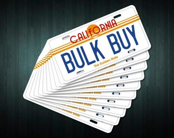 Bulk buy! Custom USA Style License Plates