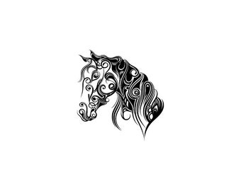 Horse - Download Digital Clipart Silhouette Vector Files