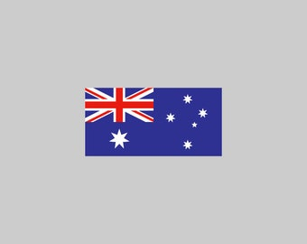 Australia Flag - Download Digital Clipart Silhouette Vector Files