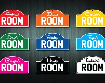 Personalised Child's Room Sticker (choose your text and color)