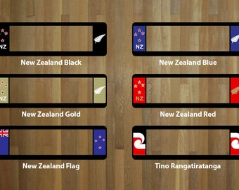 NZW60 Winged Number Plate Surrounds - New Zealand designs