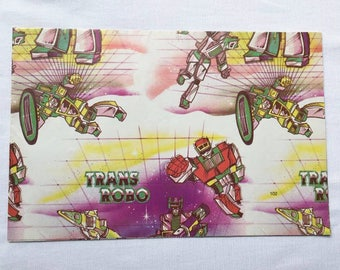 Vintage | Robot | Transformer Style | Wrapping Paper