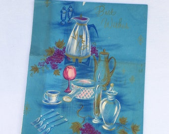 Vintage | Kitchen Tea | Wrapping Paper #2