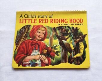 Vintage | Little Red Riding Book | Pop-Up | 3D | Book