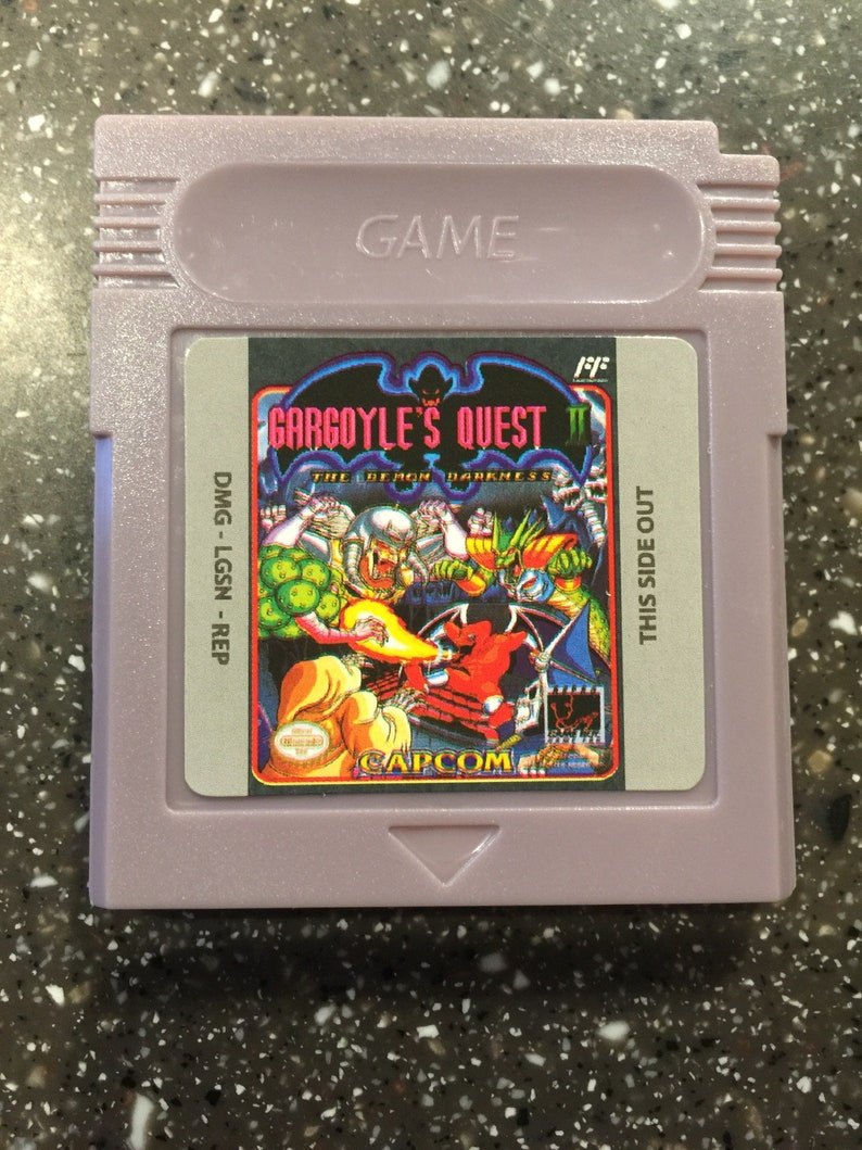 Gargoyle/'s Quest II 2 Gameboy Color Advance GBA Game wCase