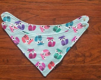 Baby Bib,Baby Bib Gift Set, Bandanna Baby Bib, Baby Shower Gift, Girls Baby Bib