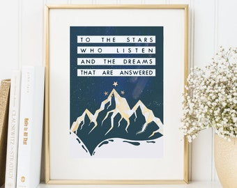 book quote wall art