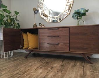 Danish Modern Credenza For Sale : Mid century credenza etsy