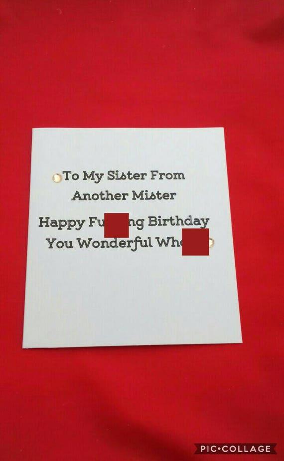 Geburtstag Karte Reife Sprache Geburtstagswunsche Bruder Von Etsy