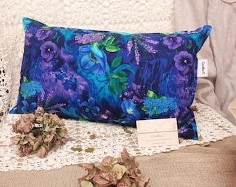 John C floral fabric pillow.
