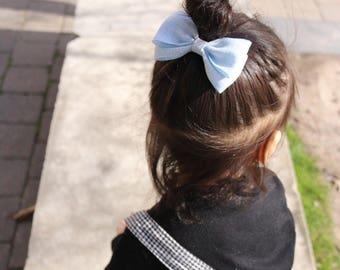 Magnolia>> pastel colors fabric bow | baby  headband | baby hair bow headband | baby girls hair bow | newborn headband | nylon baby headband