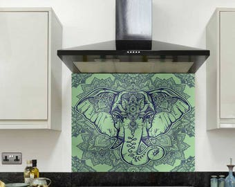 Etsy Glass Splashback