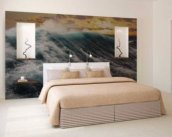 Behang Slaapkamer Romantisch : Romantisch behang etsy