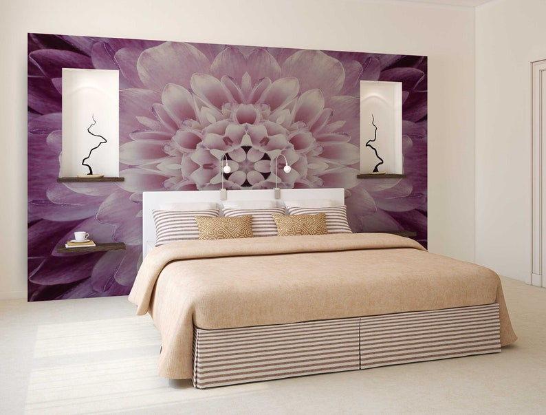 Boho Mandala Wall Decal Bohemian Bedroom Wall Decor Bohemian Wall Mural Mandala Wallpaper