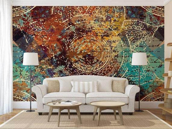 Mandala Decal Wall Wallpaper