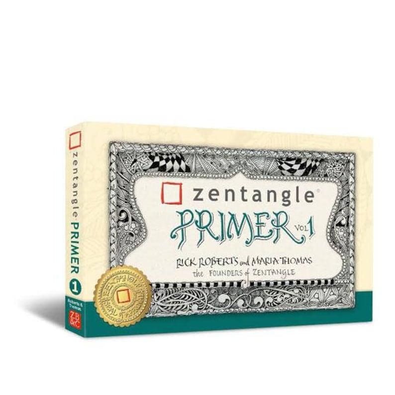 Now in Paperback Zentangle® Primer  Volume I image 0