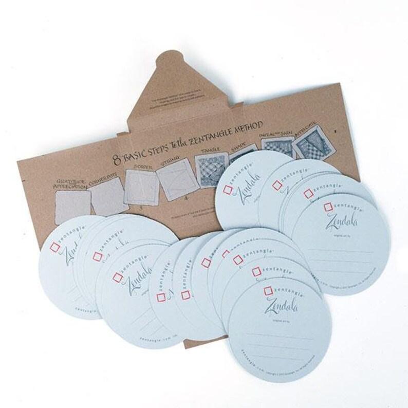 BRAND NEW Zendala® Gray Paper Tiles 21 pack image 0