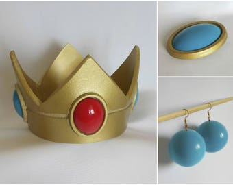 Princess Peach Jewel - Super Mario Bros