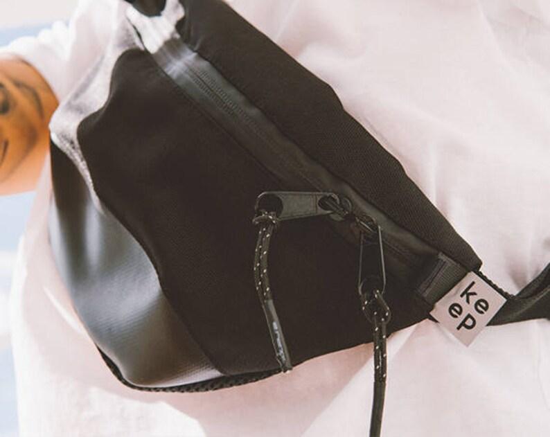 Fanny pack leather Waist bag women Hip Bag Fanny pack Festival fanny pack Black Waist bag waist bag Black Hip Bag Black Fanny Pack