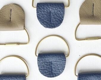 Division Circle Key Ring