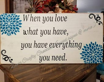 12x24 painted wood sign