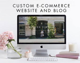 Custom WordPress eCommerce Online Responsive Store and Blog - WooCommerce Storefront - Custom Web Design, Website, Retail Clothing Boutique
