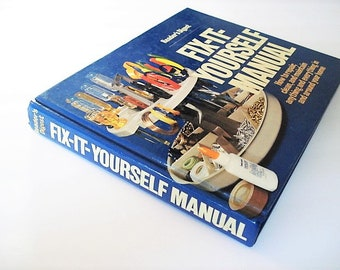 Home repair book etsy do it yourself manual home manualhome repair book jewelry carpentry booklamp repairplumbing book how todoor repair appliance repair solutioingenieria Images