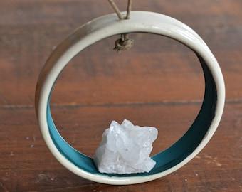 Raw Crystal Quartz Oil Diffuser Ornament Sun Catcher
