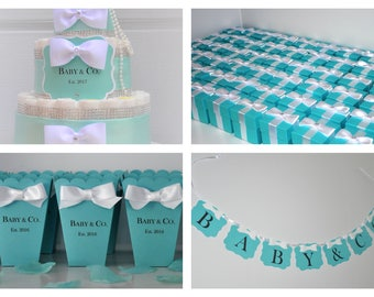 Tiffany And Co Baby Shower Decorations Etsy