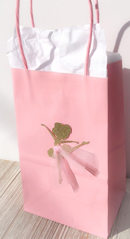 Details about  /Pink Sparkly Ballerina Dance Ballet Hand Bag By Katz Dancewear Gifts KB100