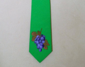 Neckties made and painted custom handmade of different colors and different kind of
