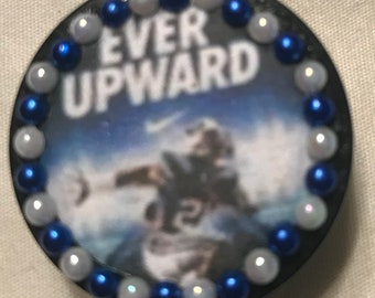 "Brigham Young University (BYU) Cougars ""Ever Upward"" Retractable Badge/ID Holder"
